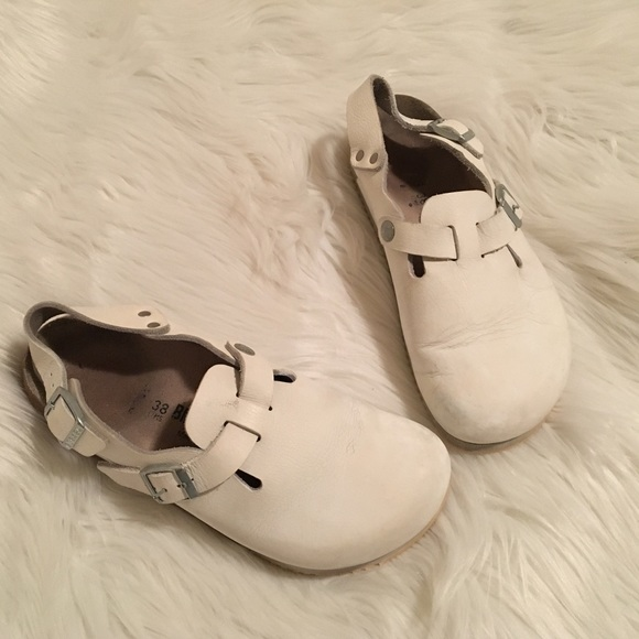 8cb8477925e9 Birkenstock Shoes - Birkenstock Tokyo Super Grip Slingback Clogs 38 7